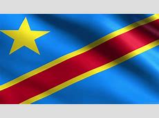 National Flag Of Democratic Republic of the Congo