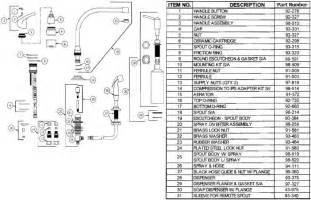 water ridge kitchen faucet replacement parts gerber 40 172 kitchen faucet parts