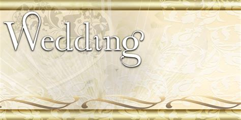 Wedding Banner by Wedding Banners Scrolls Lace Gold