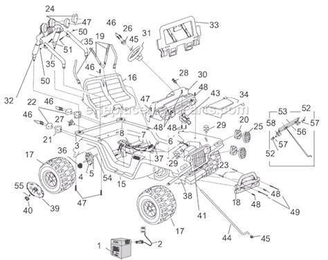 Power Wheels Jeep Wrangler Ereplacementparts