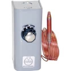 35 to 100 f electric heat remote bulb thermostat provides