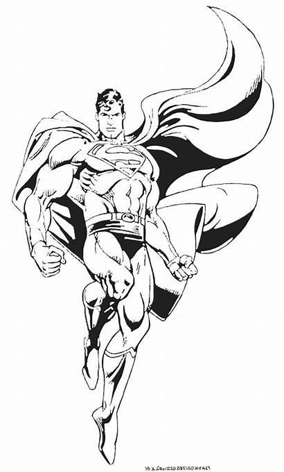 Superman Marvel Coloriage Colorear Coloring Dessin Dibujos