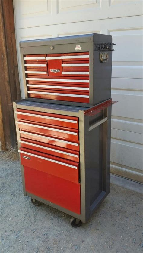 craftsman toolbox metal tool box