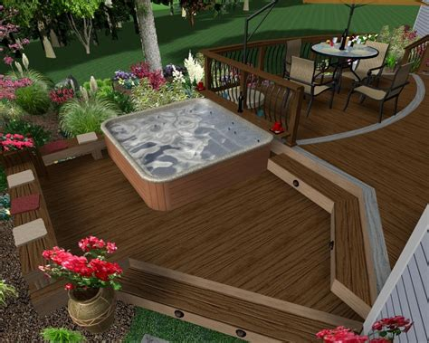 Backyard Deck Plans by Decking How To Build A Freestanding Deck For Your Outdoor