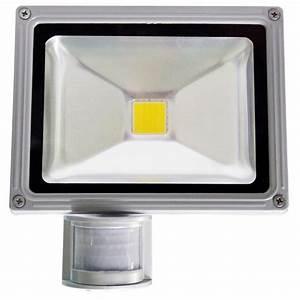 Projecteur Led Detecteur : projecteur led 20w d tecteur de mouvement projecteur ~ Carolinahurricanesstore.com Idées de Décoration
