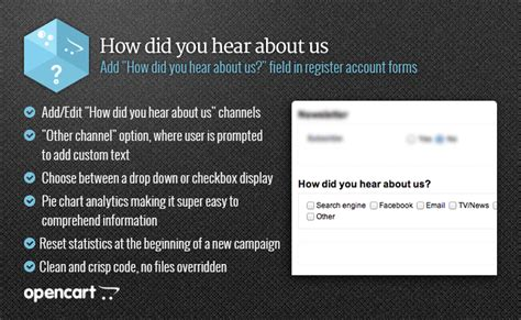 How Did You Hear by Howdidyouhearaboutus Lightweight Customer Origin Data