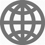 Material Icon Web Globe Internet Navigation Network