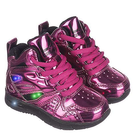 kids shoes with lights la gear l a lights pink sneaker shiekh shoes