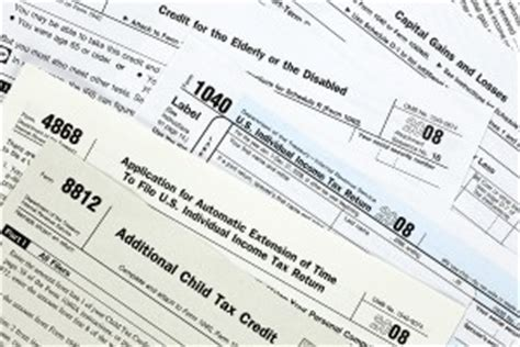 types of tax forms tax forms