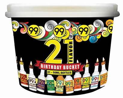 Bucket Birthday Pack Packs Flavors
