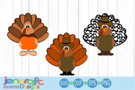 This will allow you to cut the imagine in different layers and colors using a cricut or other craft machine. Cute Turkey Clipart Svg - Layered SVG Cut File