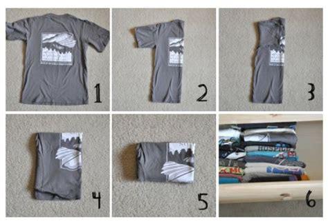 shirt folding organizing dresser clothes   pinterest  ojays shirts
