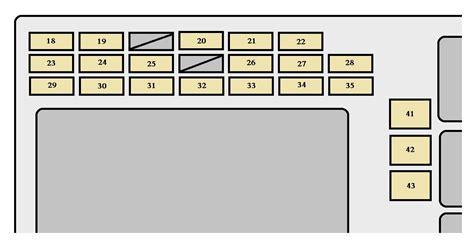 2005 Toyotum Corolla Interior Fuse Box Diagram toyota corolla 2005 2007 fuse box diagram auto genius