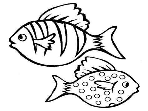 printable fish coloring pages color pages of fish activity shelter
