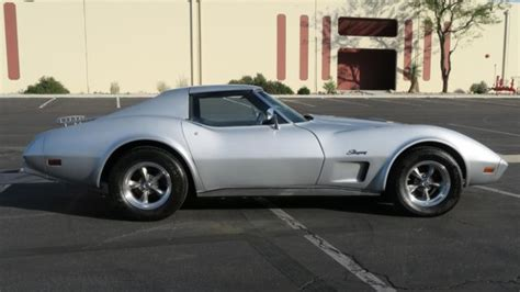 1975 chevrolet corvette 350 93 923 original new paint interior for sale