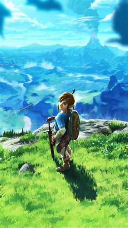 Zelda Breath Wild Phone Legend Wallpapers Desktop
