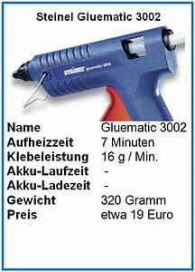 Steinel Gluematic 3002 : steinel gluematic 3002 test und vergleich hei klebepistolen tests ~ Orissabook.com Haus und Dekorationen