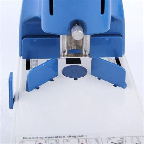 mm manual paper cutting corner rounding machine  sheets gsm