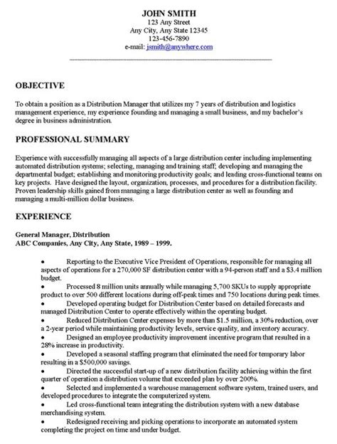 Objectives On Resume by 1000 Ideas About Resume Objective On Resume