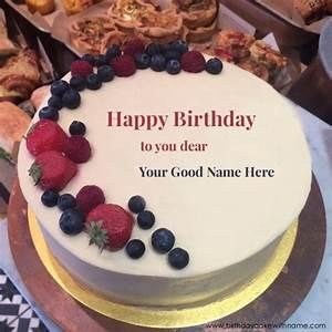 Happy Birthday To You My Dear Friend Name Cake