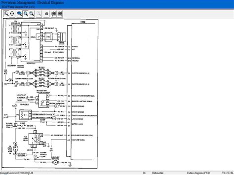 1987 Oldsmobile Cutlas Ciera Wiring Diagram by I A 1987 Olds Cutlass With The 2 8 Just Shut
