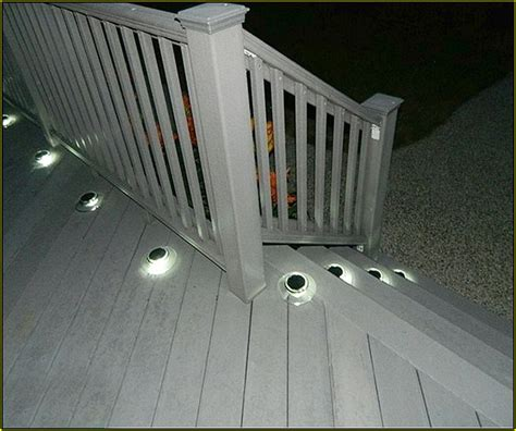 solar lights for deck stairs recessed solar deck lights home design ideas