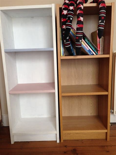 Painted Billy Bookcase by Upcycling An Ikea Bookcase Using Sloan Chalk Paint