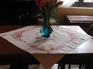 linge ancien et mercerie ancienne les nappes With affiche chambre bébé avec livraison bouquet de fleurs en martinique