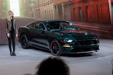 Molly Mcqueen Drives Up In 2019 Ford Mustang Bullitt