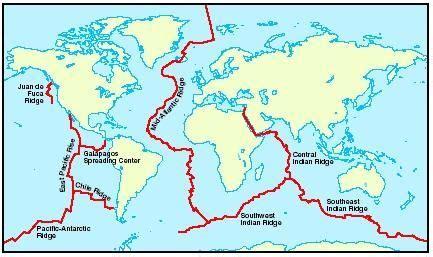 pangea  god split  continents continents ocean map