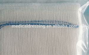 Different Sizes Sterile Or Non Sterile Cotton Gauze Swabs ...
