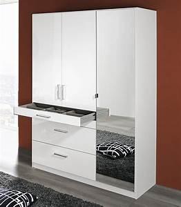 Kleiderschrank Breite 200 Cm : rauch kleiderschrank mit spiegel schlafzimmer ~ Bigdaddyawards.com Haus und Dekorationen