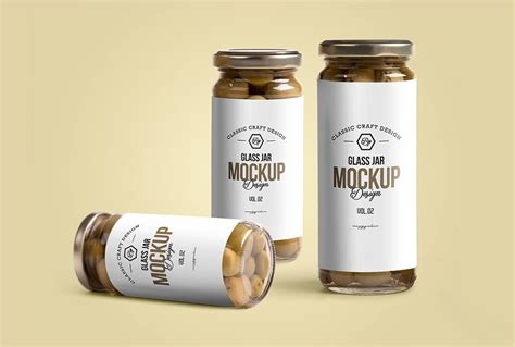 outdoor table restaurant glass jar mockup mockupworld