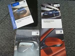2016 Bmw M5 Sedan Owner Operator Manual User Guide Set 4