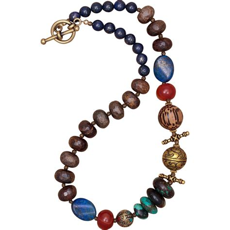 multi gemstone necklace 39 top of the 39 multi gemstone necklace from