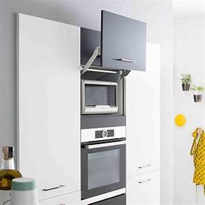 Meubles cuisine : optimiser l'espace avec les meubles hauts Mobalpa