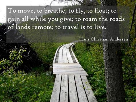travel quotes inspirational paths