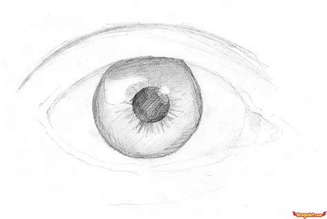 funny pictures: Eye drawing simple for female eye
