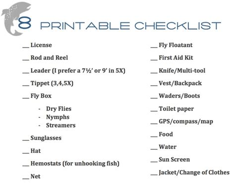 Fishing Boat Equipment List by Chasing Trout A Beginner S Guide To Fly Fishing
