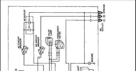 Wiring Diagram For Honda Generator by Honda 6500 Generator Wiring Diagram