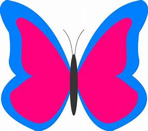 Butterfly Outline Clipart | Clipart Panda - Free Clipart ...