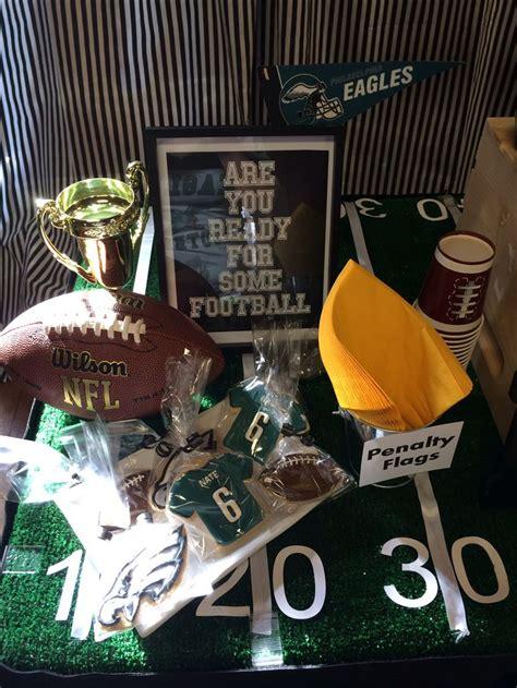 My Son's Philadelphia Eagles Party!!  Party Ideas