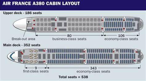plan siege a380 air voyages bergeron l a380 d 39 air desservira montréal