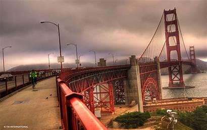 Francisco San Bridge Golden Gate Wallpapers Bridges