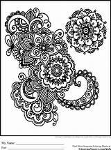 Coloring Pages Detailed Adults Adult Printable sketch template