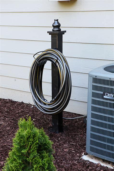 garden hose holder decorative hose holder