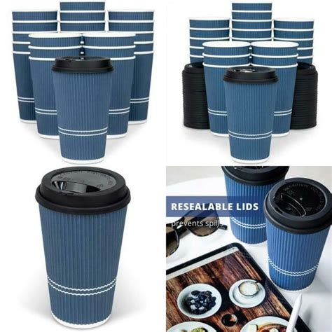 Lid with sip hole, for 0.3 l coffee to go coffee cups (1000 pieces) / ctg drinking lid for vending and sales of hot beverages. Glowcoast Disposable Coffee Cups With Lids - 16 Oz To Go Coffee Cup (80 Set). La | eBay