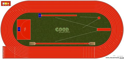 Diagram Of Track Running by Gtb Athletics Track Update The