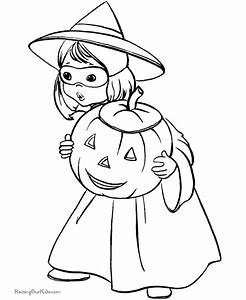 20 Awesome Halloween Coloring Pages!