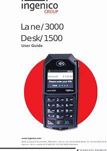Lane3000cl User Manual 900033034 R11 000 02 Indd